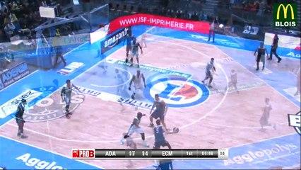 ProB 2017 - J10  Blois vs Charleville-Mézières - By LNB TV