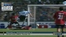 Torneo Apertura 2003: Racing Club 1-1 Independiente - J15 (22.11.2003)