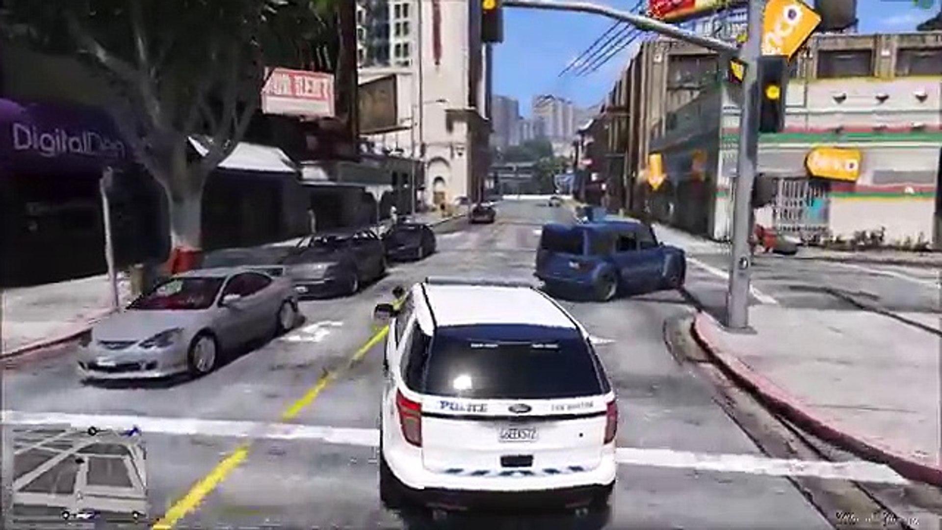 GTA 5 LSPDFR 0 3 1 Police Mod 120 | New Car Pack | Los Santos Police  Department Textures