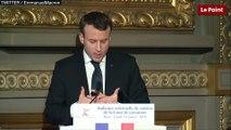 Emmanuel Macron sur la suppression de la Cour de justice de la République