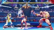 Street Fighter V Arcade Edition - Présentation détaillée des V-Trigger II
