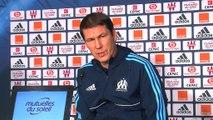 Rudi Garcia espère un  match sur la lancée de celui face à Rennes demain soir face à Strasbourg