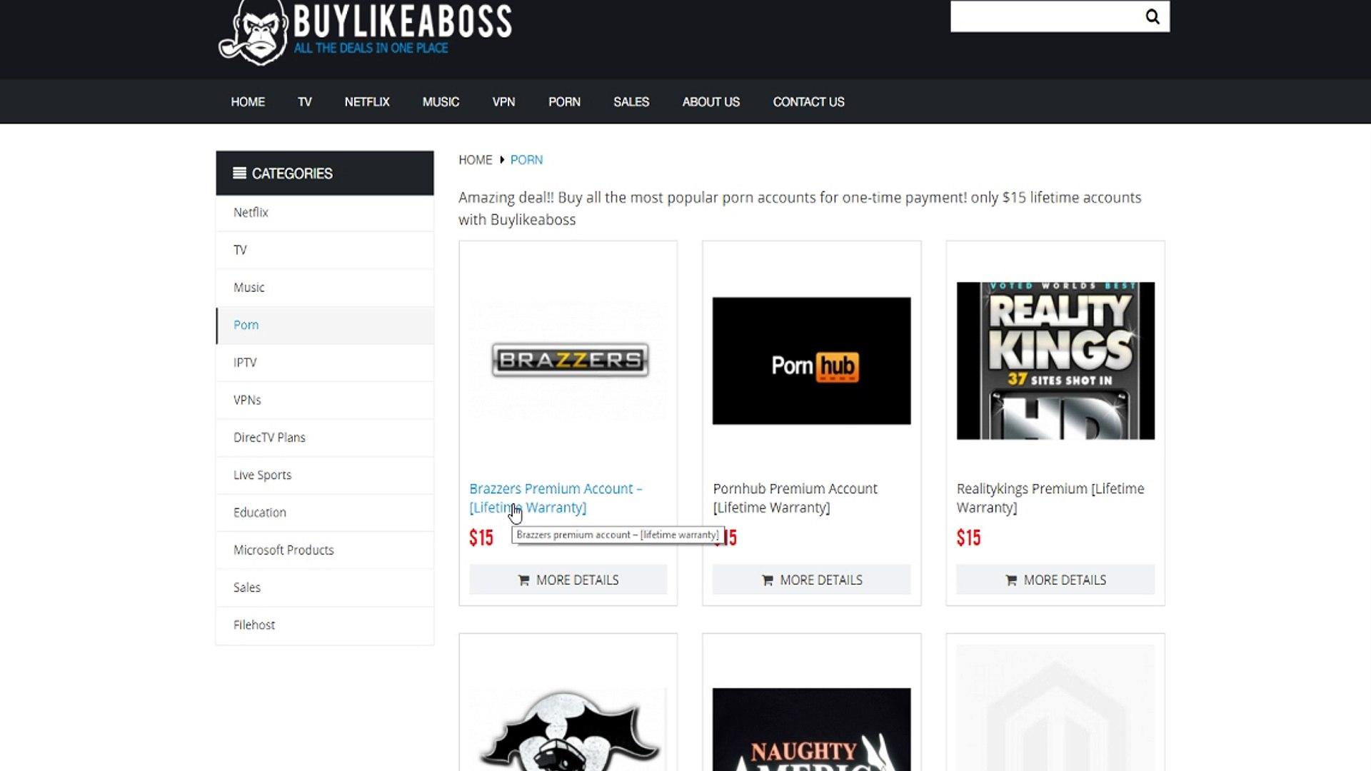 Porn Brazzers Premium brazzers premium account for 15$ [lifetime] 100% legit