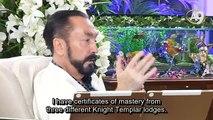Why did Adnan Oktar become a freemason?