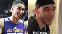 Lonzo Ball Gets ROASTED by Teammate Kyle Kuzma for Wearing a Du-Rag
