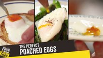 How to Make Perfect Poached Eggs - 3 Ways   Jamie Oliver