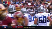 Prescott Leads Cowboys Downfield for Morris TD after Church's INT! | Cowboys vs. Redskins | NFL