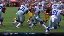 Ezekiel Elliott TD Caps Off Cowboys 94-Yard Drive | Cowboys vs. Redskins | NFL