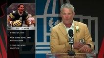 Brett Favre Hall of Fame Speech | 2016 Pro Football Hall of Fame | NFL