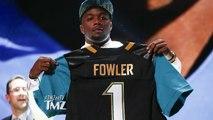 NFL Player Dante Fowler Arranges Cat Fight   TMZ TV