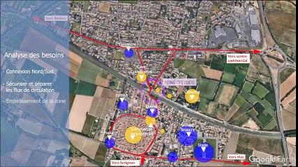 projet passerelle villeneuve-les-beziers