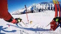Entraînement du skieur pro Ted Ligety