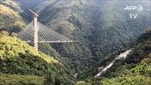 مقتل عشرة عمال في انهيار جسر قيد الإنشاء في كولومبيا