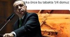 """İşte Erdoğan'ın """"Çeyrek Domuzu 7 Dakikada Yemiş"""" Dediği CHP'li İl Başkanı'nın Eşinin O Paylaşımı"""