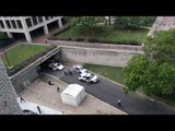 RAW: Suspects with machine gun prompt U.S. Capitol lockdown
