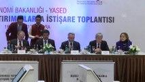Maliye Bakanı Ağbal - Ekonomi Bakanlığı-YASED Uluslararası yatırımcılarla İstişare Toplantısı - ANKARA