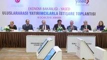 """Ekonomi Bakanı Zeybekci :""""Durmak yok yola devamın yanına, mazeret yok yola devam yeni sloganımız"""" - ANKARA"""