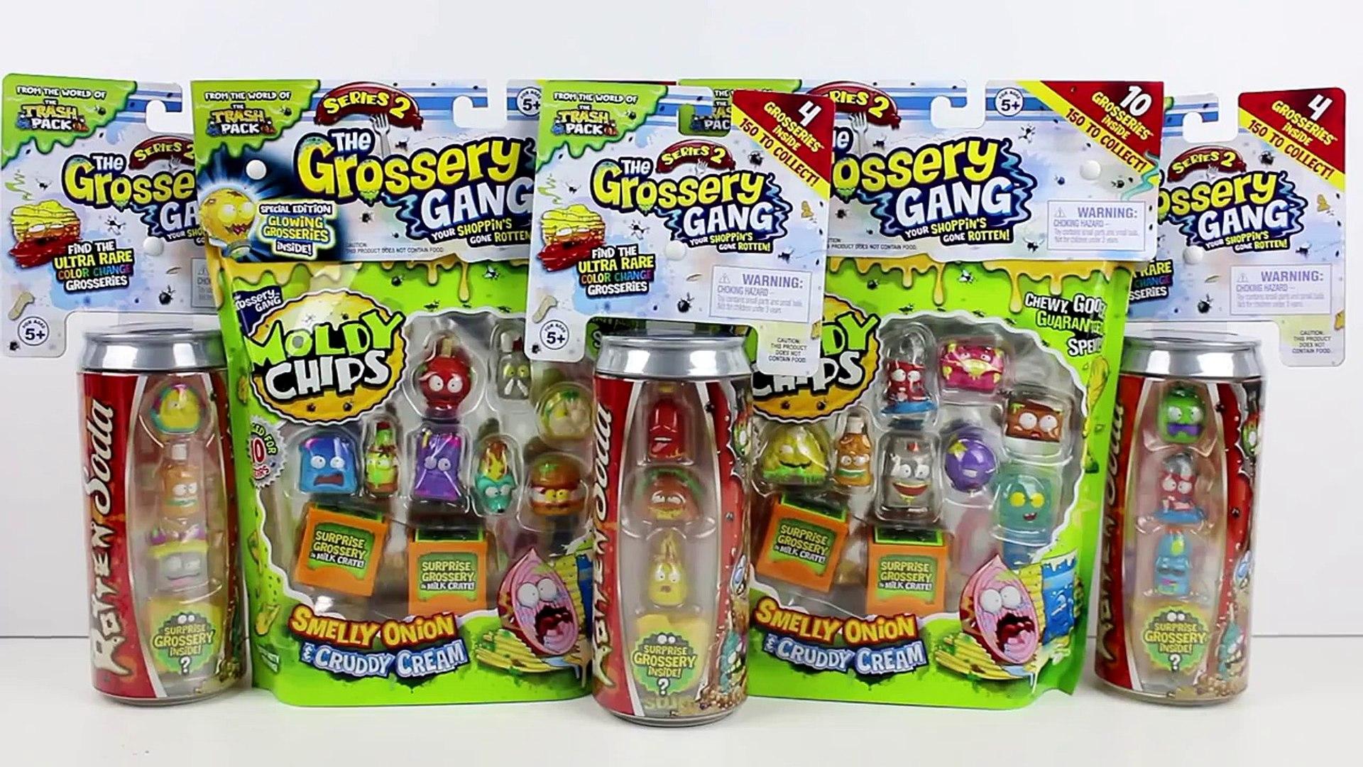 The Grossery Gang S2 Rotten Soda 4-Pack