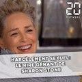 Harcèlement sexuel: Le rire gênant de Sharon Stone