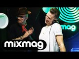 JACKMASTER and JUSTIN ROBERTSON DJ sets in Bugged Out! Lab LDN Special