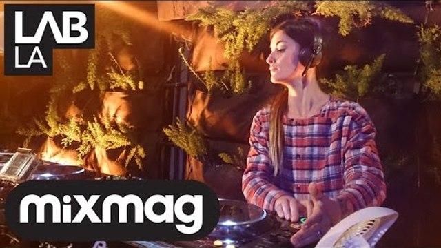 JULIA GOVOR underground techno DJ set in the Mixmag Lab LA
