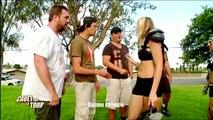 Un match de football américain contre des bombes à Los Angeles ! - Cauet Fait Le Tour