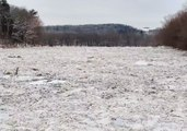 Susquehanna River Ice Jam Captured From the Air