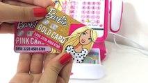 Vamos fazer comprinhas na Caixa Registradora da Barbie? | Imaginando & brincando