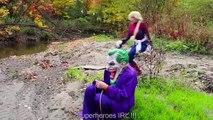#14Frozen Elsa is DEAD! w  Spiderman Joker Rapuntzel Princess Toys Superhero Fun in real life IRL | Superheroes | Spiderman | Superman | Frozen Elsa | Joker
