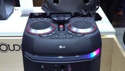 CES 2018 : LG OK75, Enceinte et table de mixage multi-service