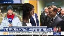 """""""On voulait marquer le coup"""", déclare une membre de l'association L'Auberge des migrants qui a décliné l'invitation de Macron à Calais"""