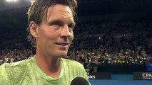 """Open d'Australie 2018 - Tomas Berdych : """"Heureux de sortir Alex De Minaur qui est impressionnant"""