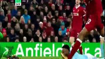 ملخص مباراة ليفربول ومانشستر سيتي 4-3 مباراة مجنونة ◄ الدوري الانجليزي 14-1-2018 [ شاشة كاملة HD ]