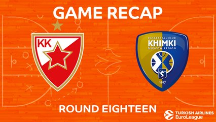 EuroLeague 2017-18 Highlights Regular Season Round 18 video: Zvezda 70-79 Khimki