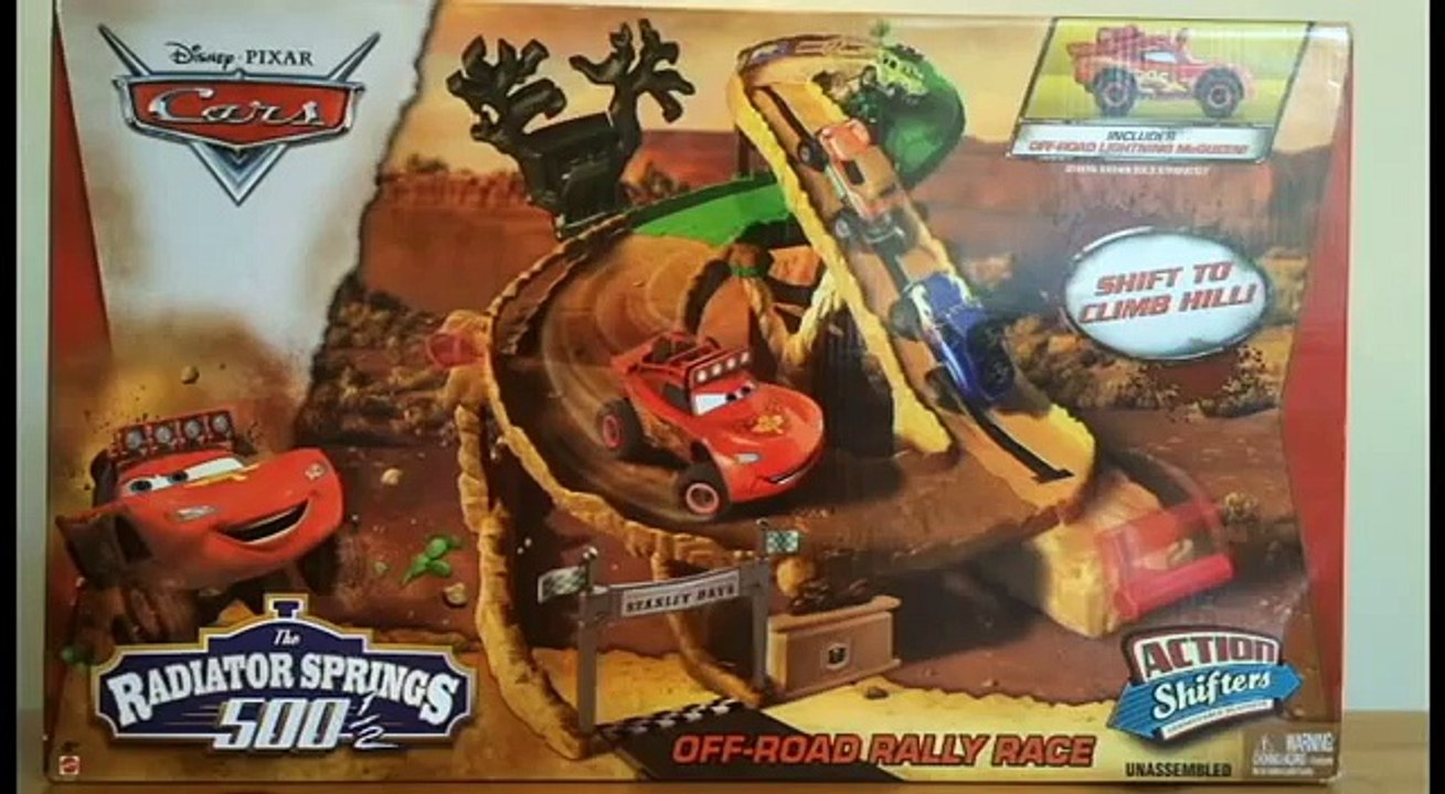 RS500 Disney Pixar Cars Off-Road Rally Race Trackset