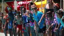 2013 Bush Schools Swimming and Lifestyle Clinic - Alice Springs