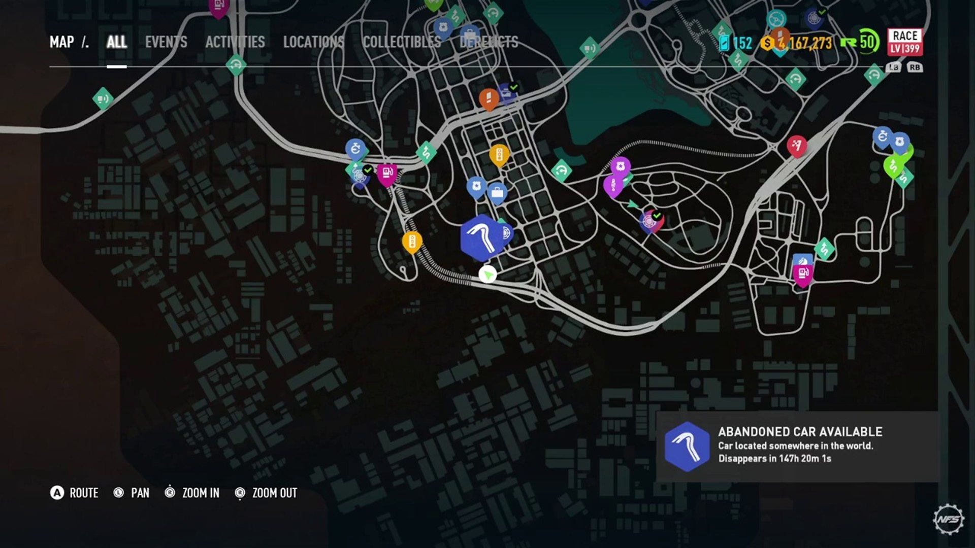 Need For Speed Payback Abandoned Car Location 3 Customization