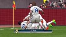 PES 2017   Real Madrid vs Manchester United   C.Ronaldo Free Kick Goal & Last Minute Goal   Bale MU
