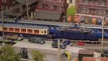 Model Railway with Glacier Express Cab Ride in Narrow Gauge Scale