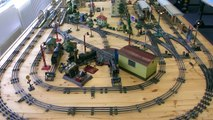 Amazing Marklin pre-war tinplate fully functional model railway in O scale