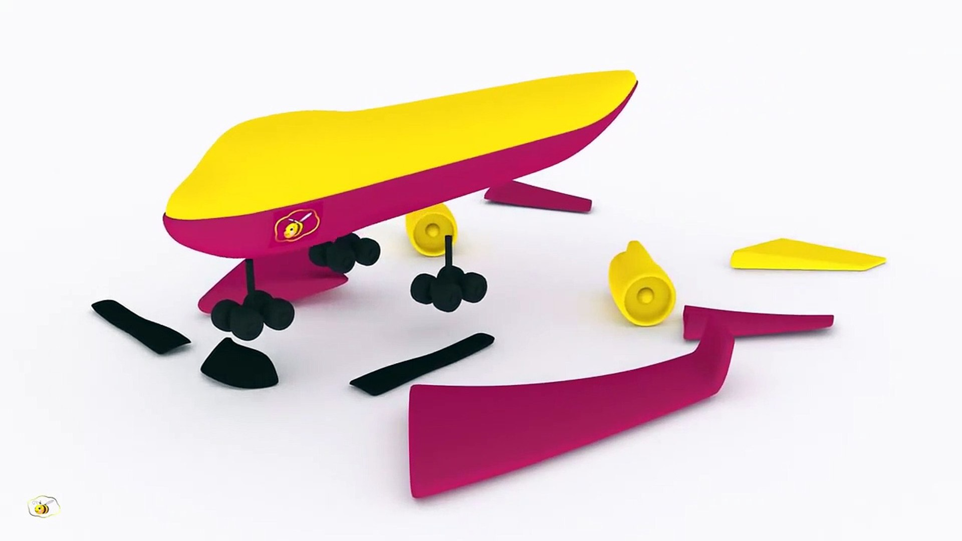 Airplane for kids toddlers babies. Education