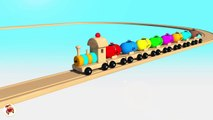 Learn Colors With Balloons Balls Trains Balls for Children - Street Vehicles Thomas Train For Ki