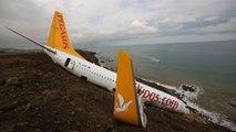 Trabzon'da Pistten Çıkan Uçağın İkinci Pilotu, Yanlış Butona Basmış