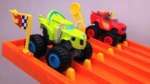 Monster Trucks for Kids #1 Blaze and the Monster Machines Racing for Child