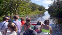 Airboat in Everglades Park