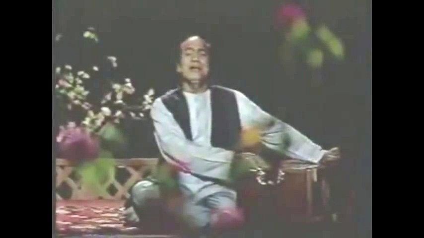 Main Aarzoo e Deed Kay Kis Marhalay Mein Hoon - Mehdi Hassan - Poet Wasif Ali Wasif
