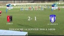 [U19 NAT] Gambardella 64ème de finale Résumé USBCO - JA Drancy