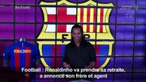 ARCHIVES/Brésil - Ronaldinho prend sa retraite, selon son frère