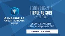 Jeudi, Coupe Gambardella-CA : tirage au sort des 32es de finale en direct (12h)