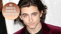 Timothée Chalamet: ¿la estocada final a Woody Allen?